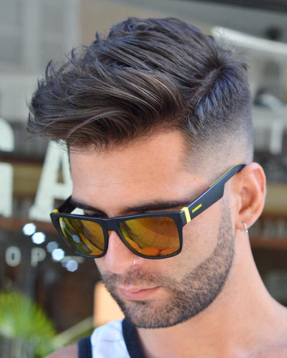 Фото мужские причёски тренд