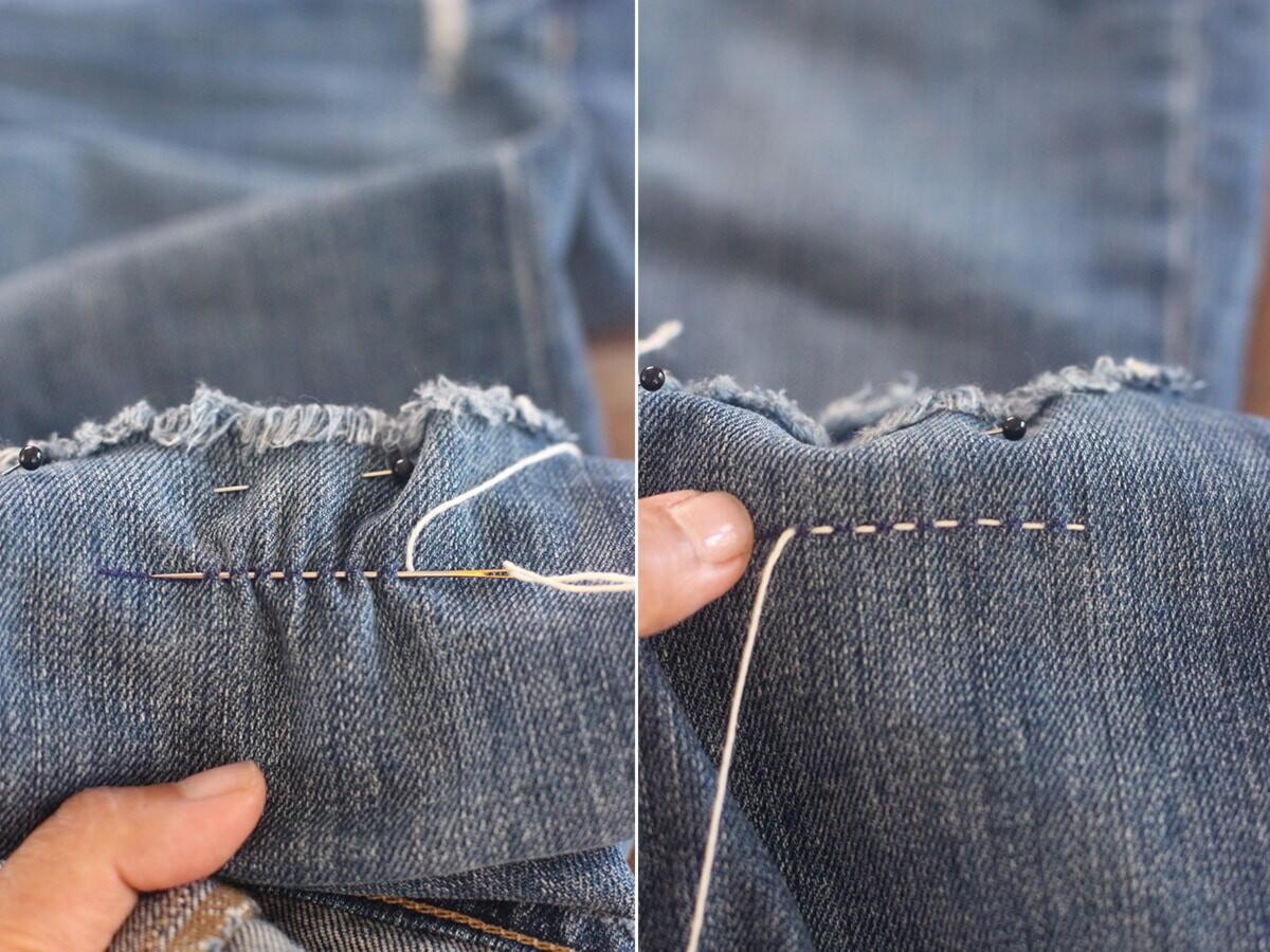 Как украсить джинсы (122 фото) 97