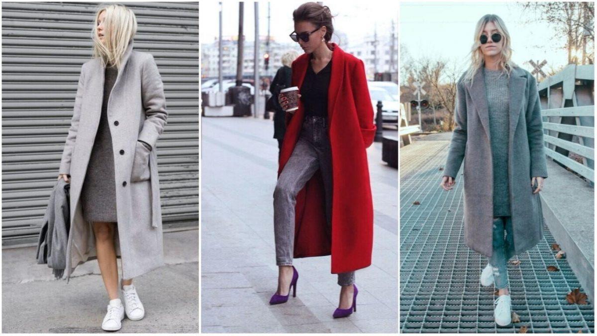 2a628be048b Модные тенденции пальто на весну осень зиму 2018 - 2019 года  125 фото
