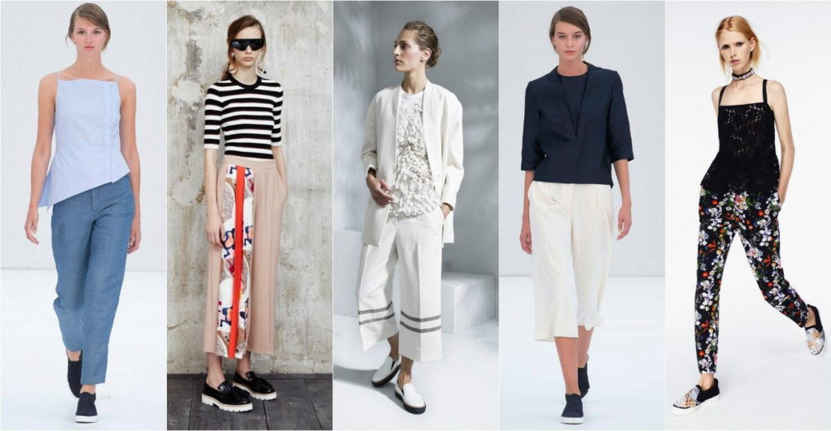 f724cfca4e48 Женские брюки 2018 – 2019 года: модные тенденции, 70 фото