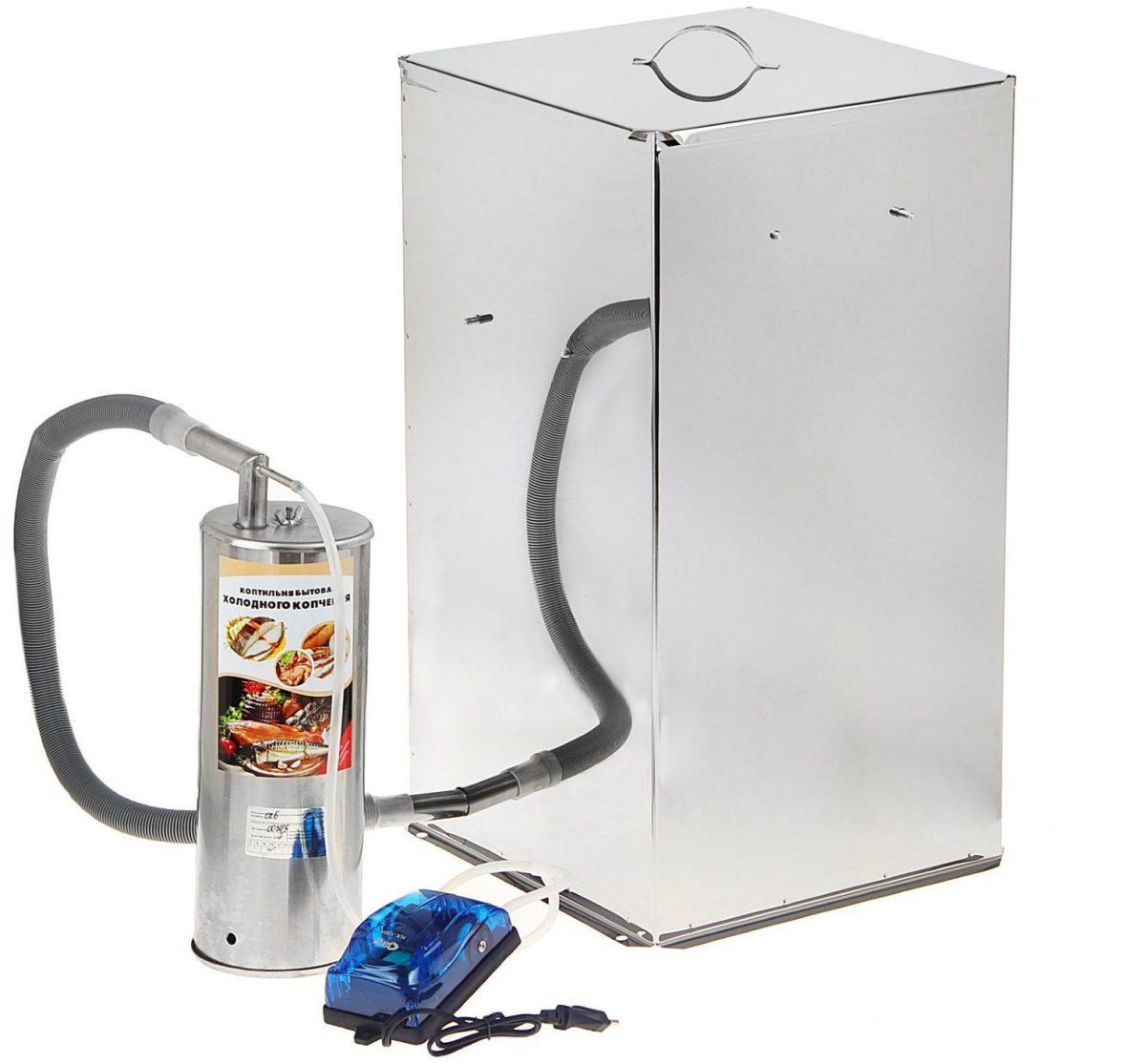Холодное копчение без дымогенератора