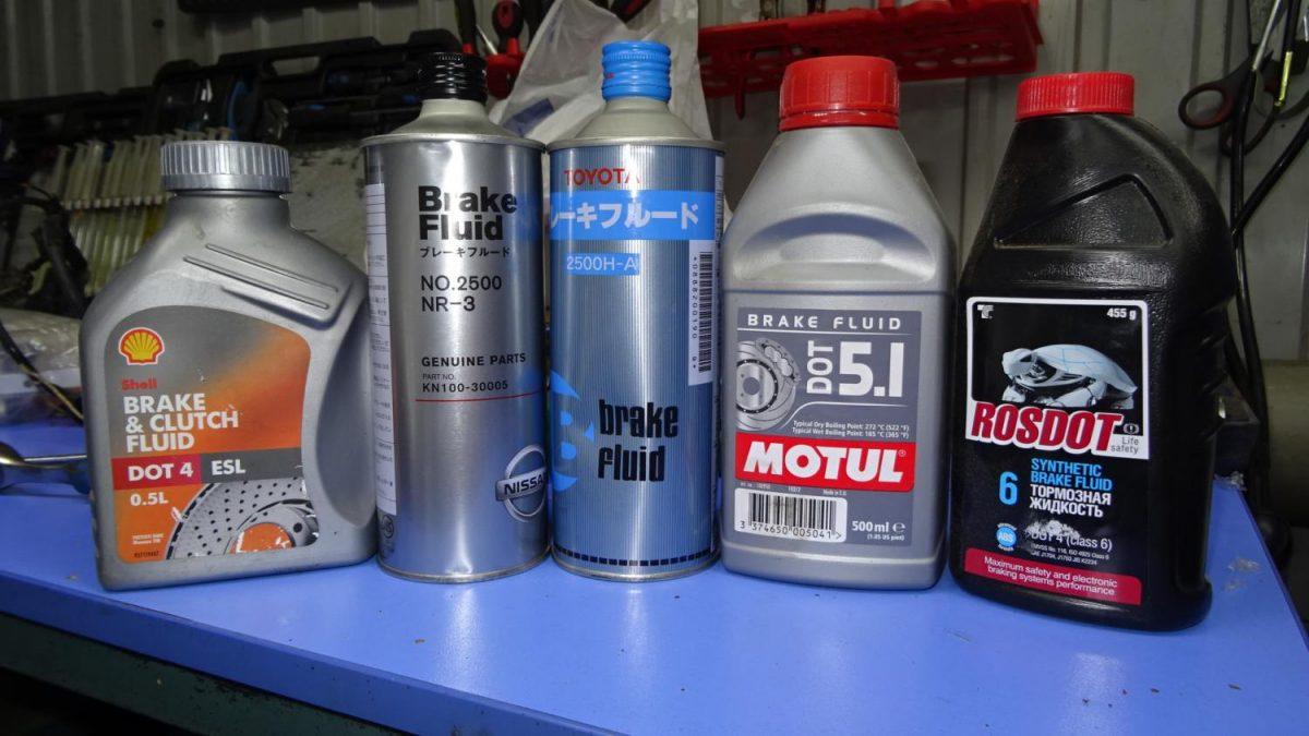 Рейтинг тормозной жидкости