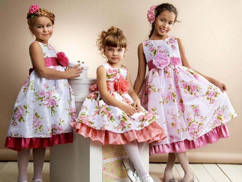 три платья
