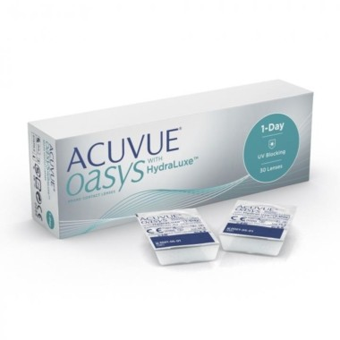 Acuvue OASYS 1-Day with HudraLuxe