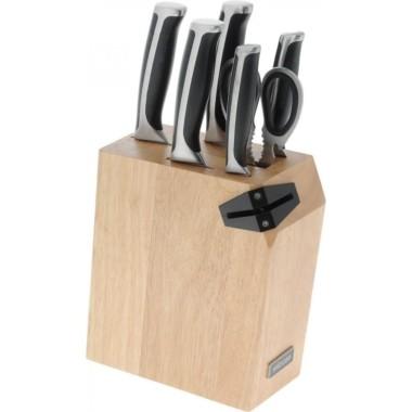 Nadoba Ursa 5 ножей и ножницы с подставкой