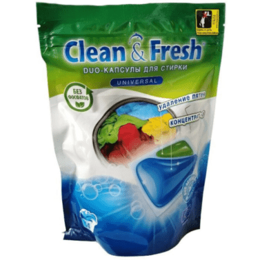 CLEAN & FRESH Duo Universal