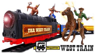 PEQUETREN Поезд на запад 695