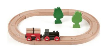BRIO 33042 – Железная дорога с грузовым поездом