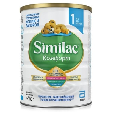 Similac (Abbott) Комфорт 1
