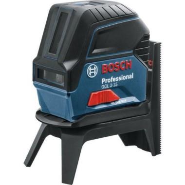 BOSCH GCL 2-15 Professional + RM 1 Professional (0601066E00)