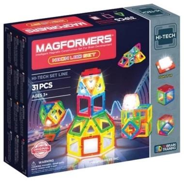 Magformers Hi-Tech 709007 Неоновый светодиод