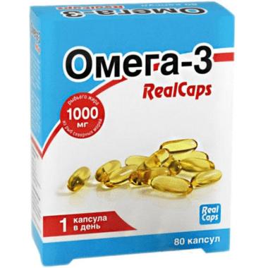 RealCaps Омега-3