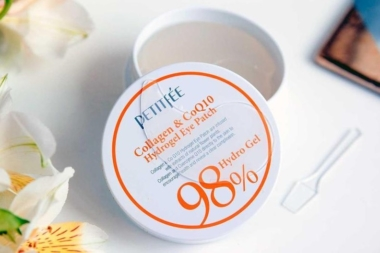 Petitfee Q10 Collagen & CoQ10 Hydrogel Eye Patch
