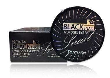 Farmstay Black snail hydrogel eye patch