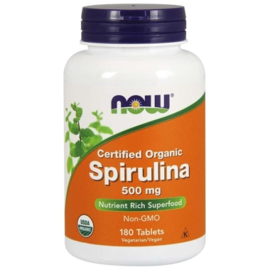 NOW Organic Spirulina