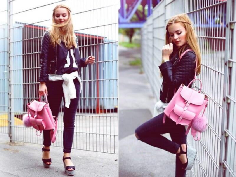 Женские рюкзаки: недорогие и городские, модные и стильные