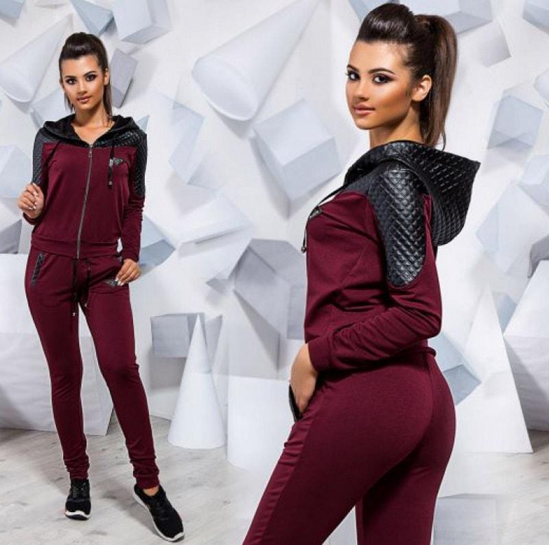 cc750bb7cf9 Модные женские спортивные костюмы 2018 – 2019 года
