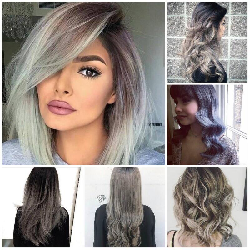 Модные бордовые оттенки волос 2019