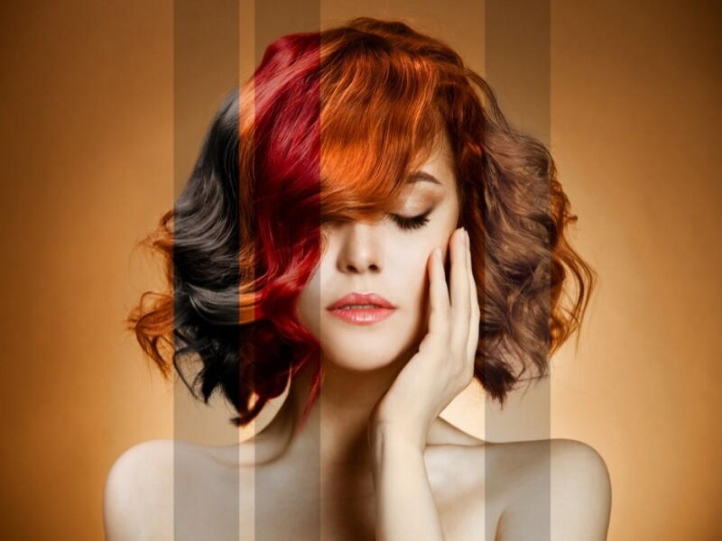 Тонировочный шампунь для волос