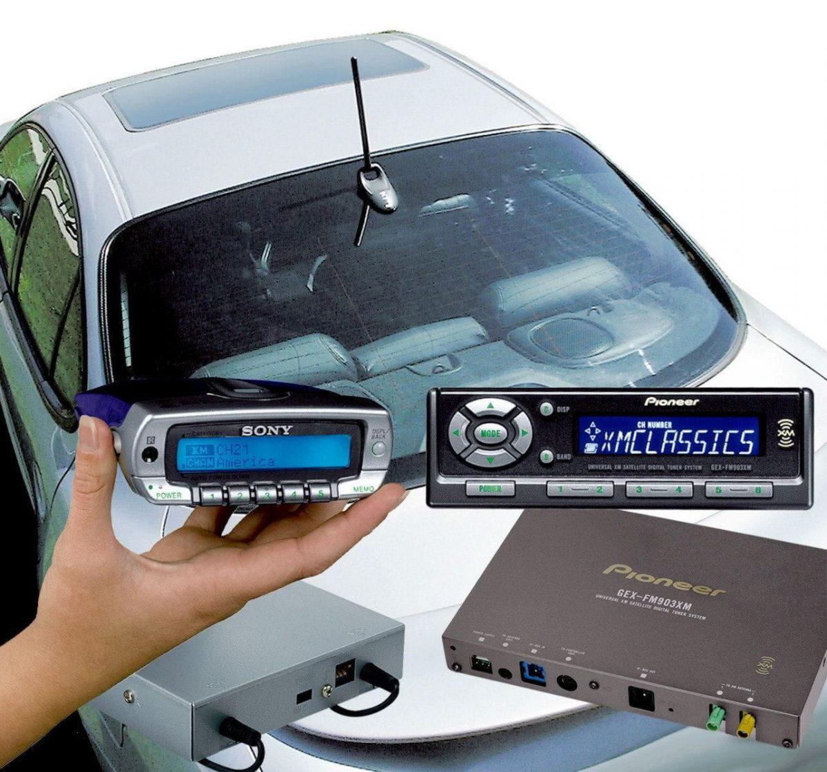 Автомобильная антенна для автомагнитолы, радио