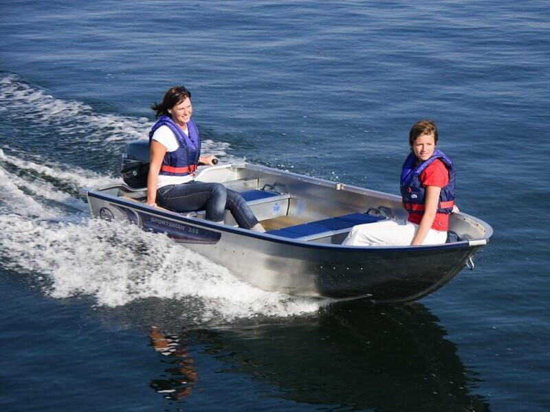 Алюминиевая лодка для рыбалки российского производства! Отзывы и рейтинг